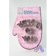 Cookie Cutter Thinking Of You Design