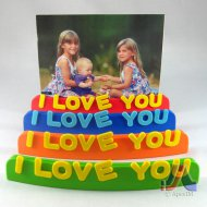 Photo Stand I Love You Design