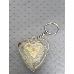 HEART KEY CHAIN W/ PERFUME