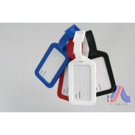 LUGGAGE TAG RED, WHITE, BLUE, BLACK