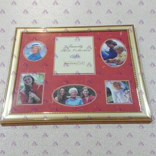 FAMILY PHOTO COLLECTION GOLD 12 X 10