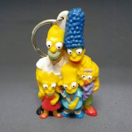 Bart Simpson Family Key Ring
