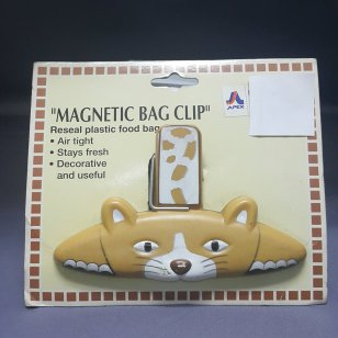MAGNETIC BAG CLIP CAT