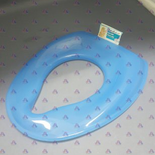 KIDS TOILET TRAINER SEAT (BLUE,RED)