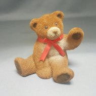 Bear Savings Bank w/ Hand Raised