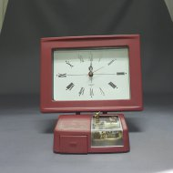 JEWELRY BOX W/ CLOCK