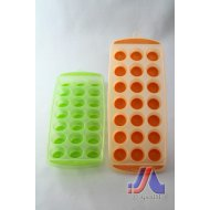 POP UP ICE TRAY (ORANGE,GREEN)