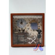 DOLLHOUSE CLOCK BIG - Sewing Design