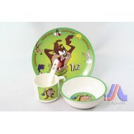 CHILDREN DINNER SET DOG